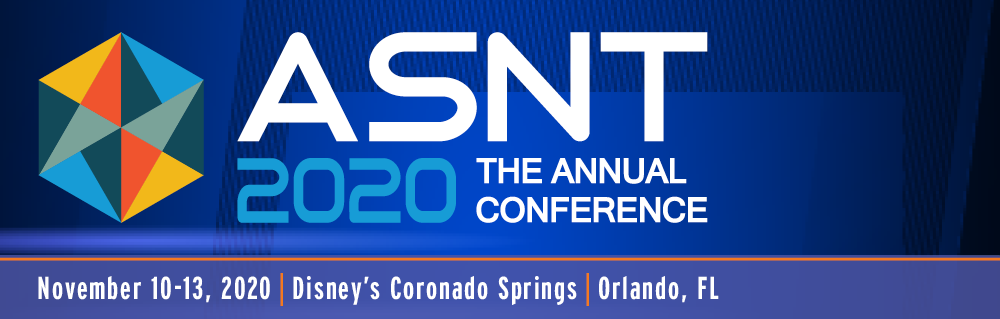 ASNT Annual Conference 2020